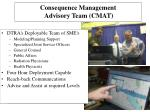 consequence management advisory team cmat