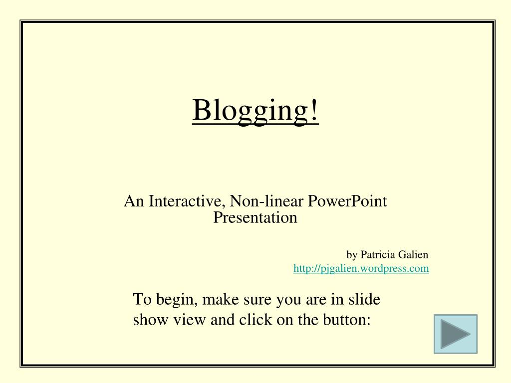 blogging l.