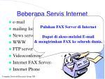 beberapa servis internet42