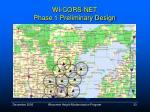 wi cors net phase 1 preliminary design33