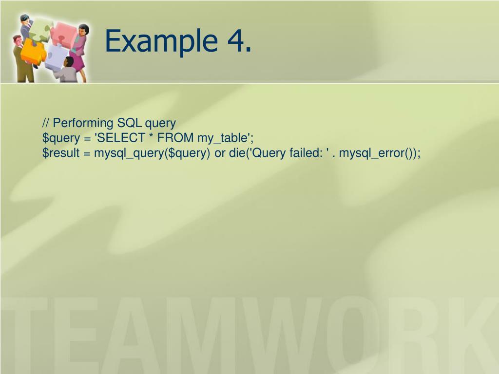 Example 4.