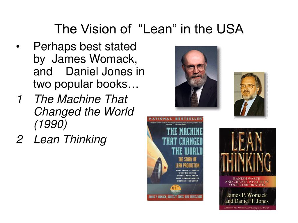 """The Vision of  """"Lean"""" in the USA"""
