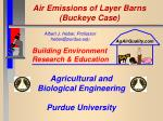 air emissions of layer barns buckeye case