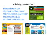 esafety resources