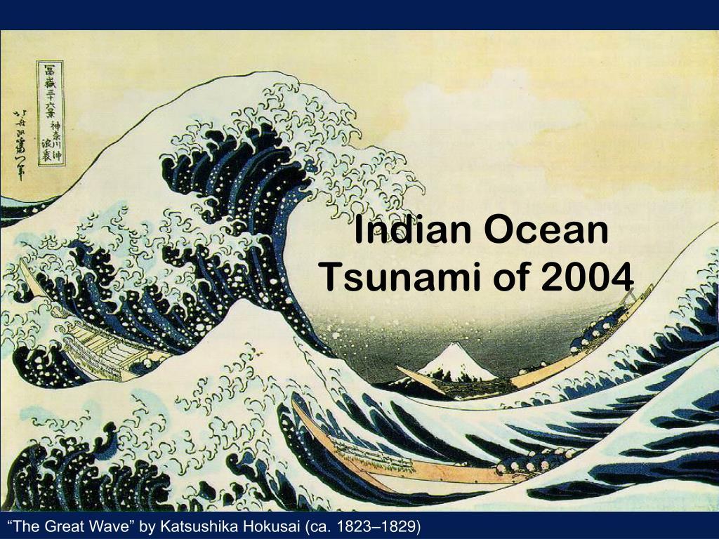 indian ocean tsunami of 2004 l.