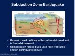 subduction zone earthquake