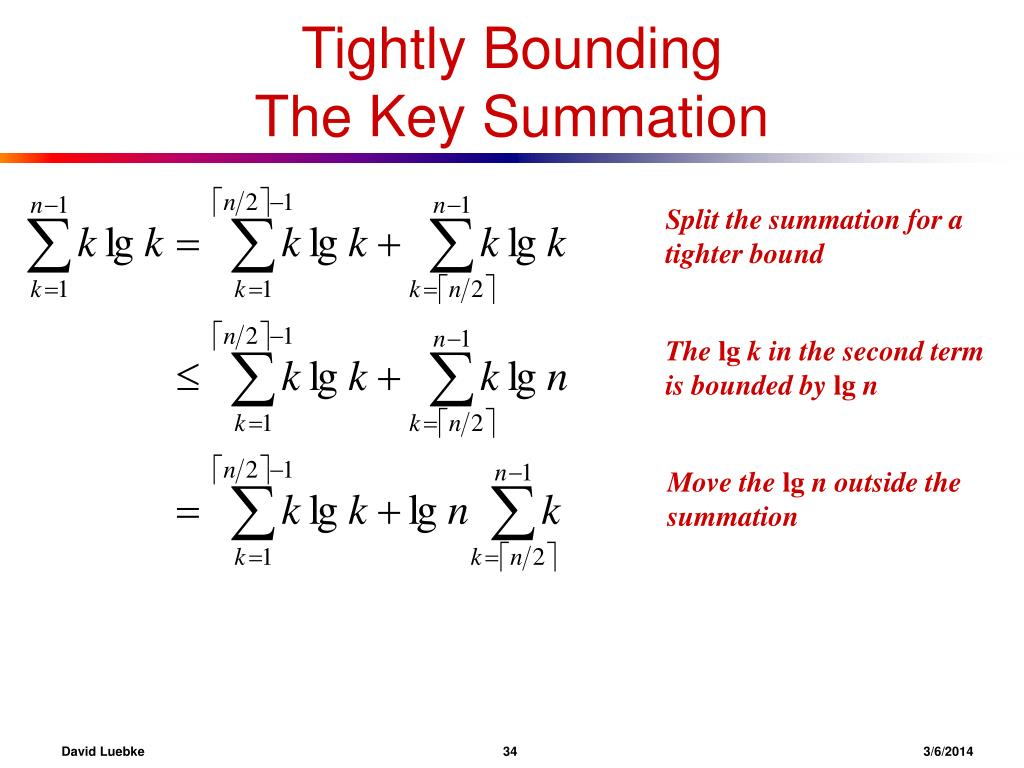Tightly Bounding