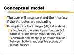 conceptual model13