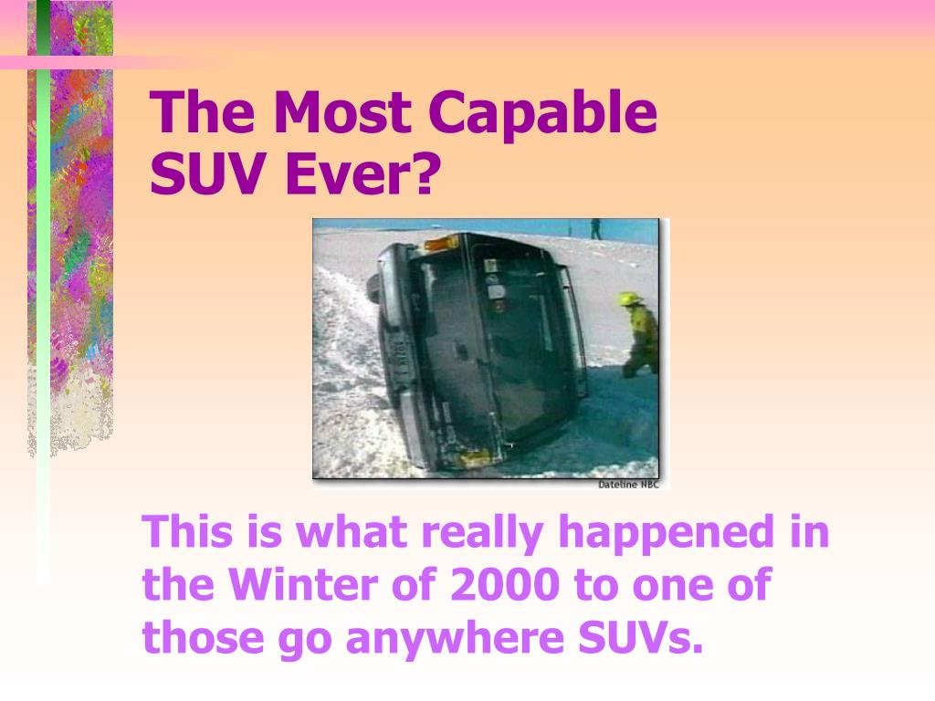 The Most Capable          SUV Ever?