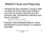 wmata fares and ridership