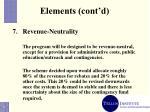 elements cont d11