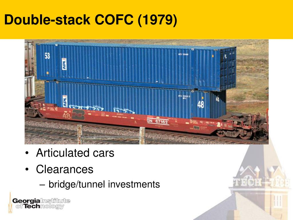Double-stack COFC (1979)