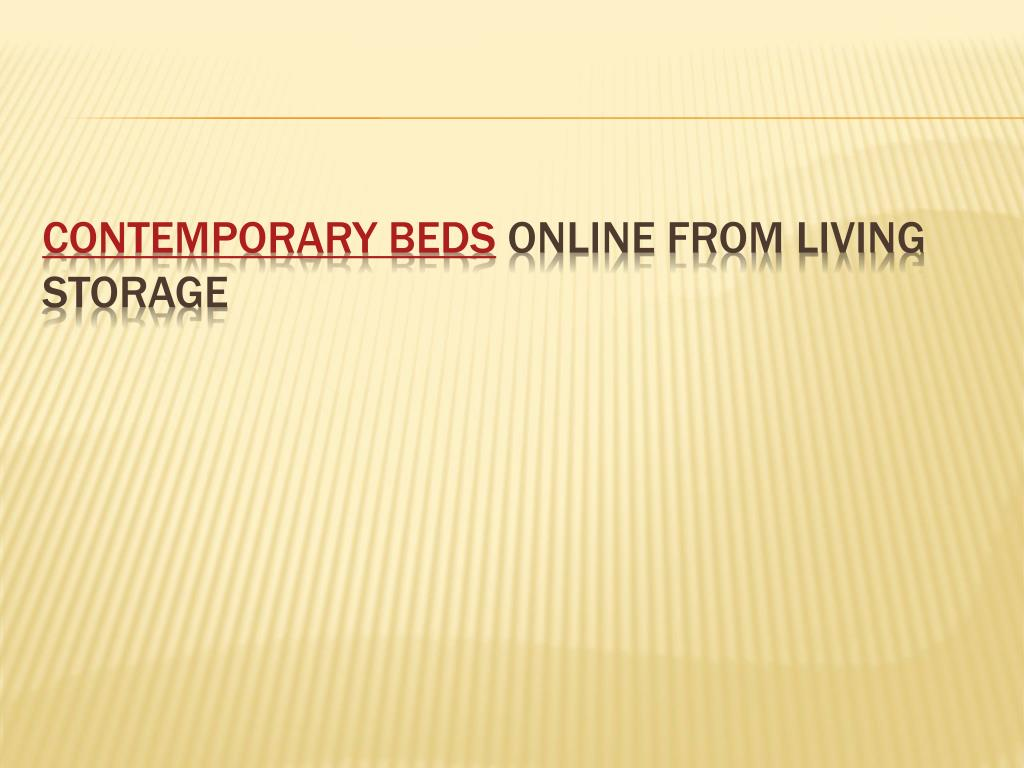 contemporary beds online from living storage l.