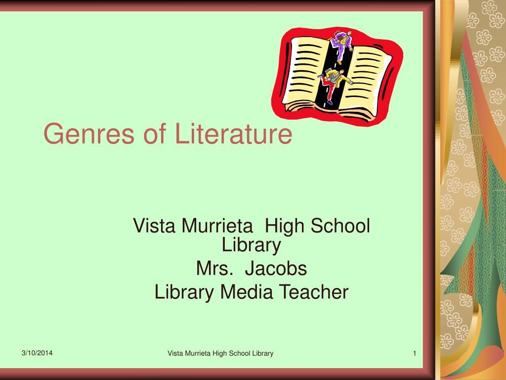 genres of literature l.