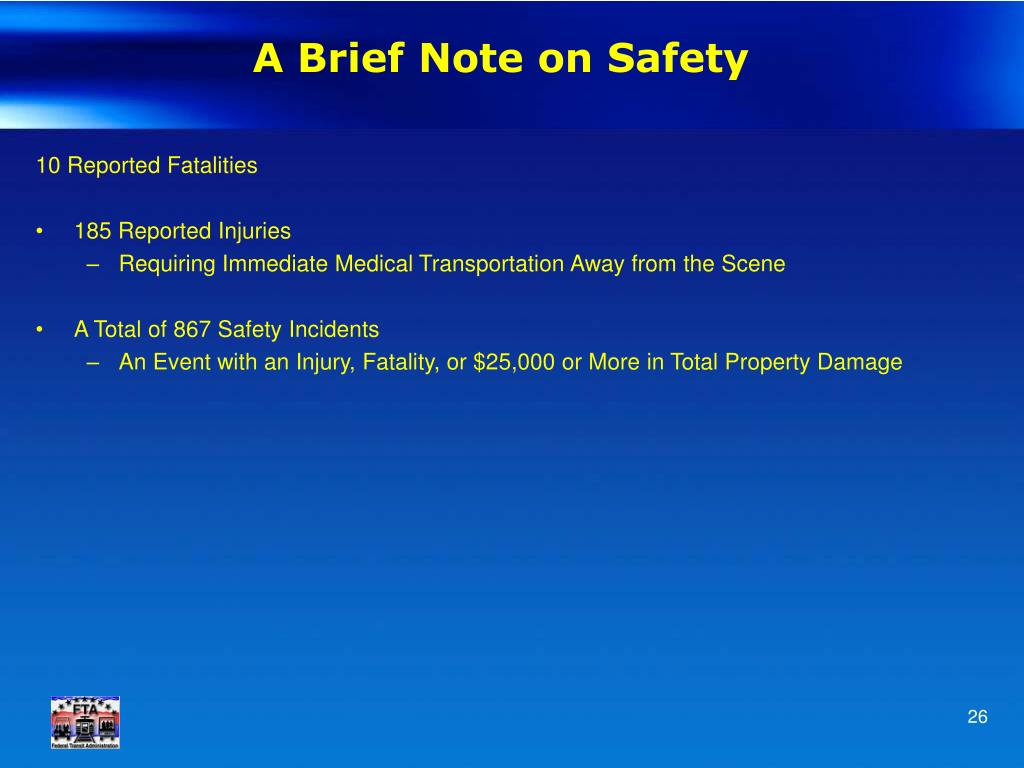 A Brief Note on Safety