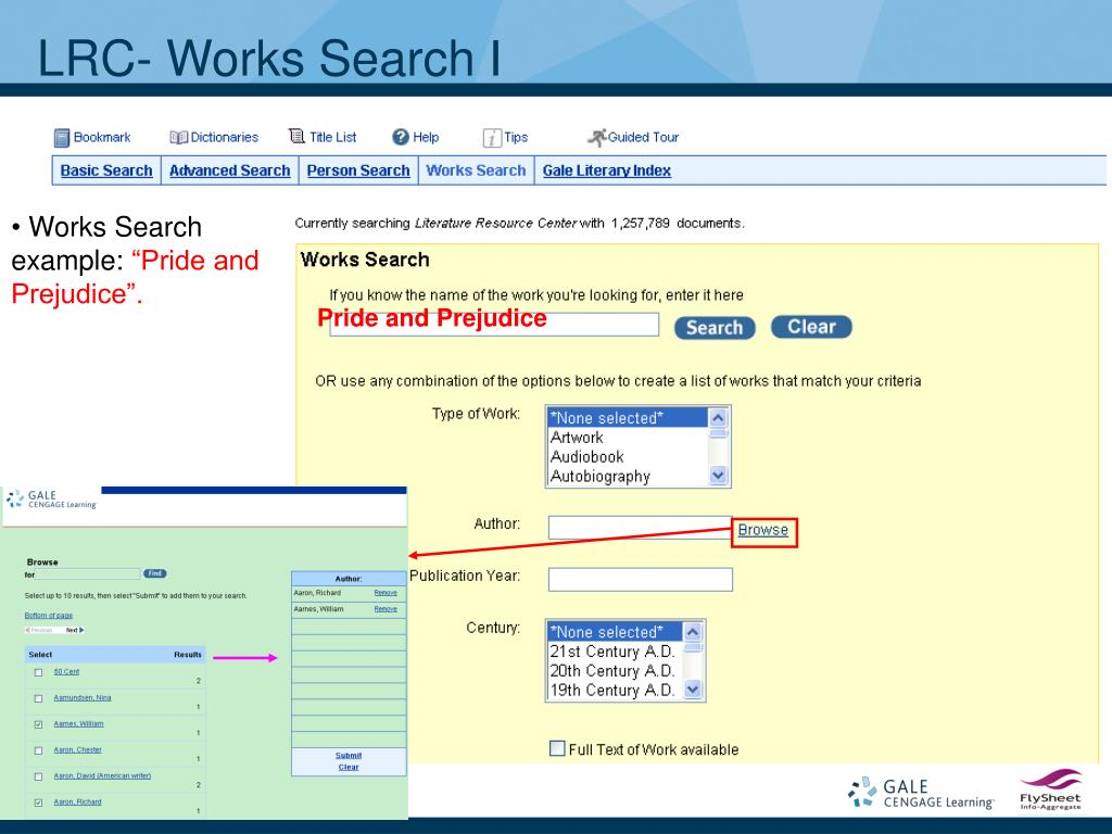 LRC- Works Search