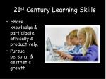 2 21 st century learning skills