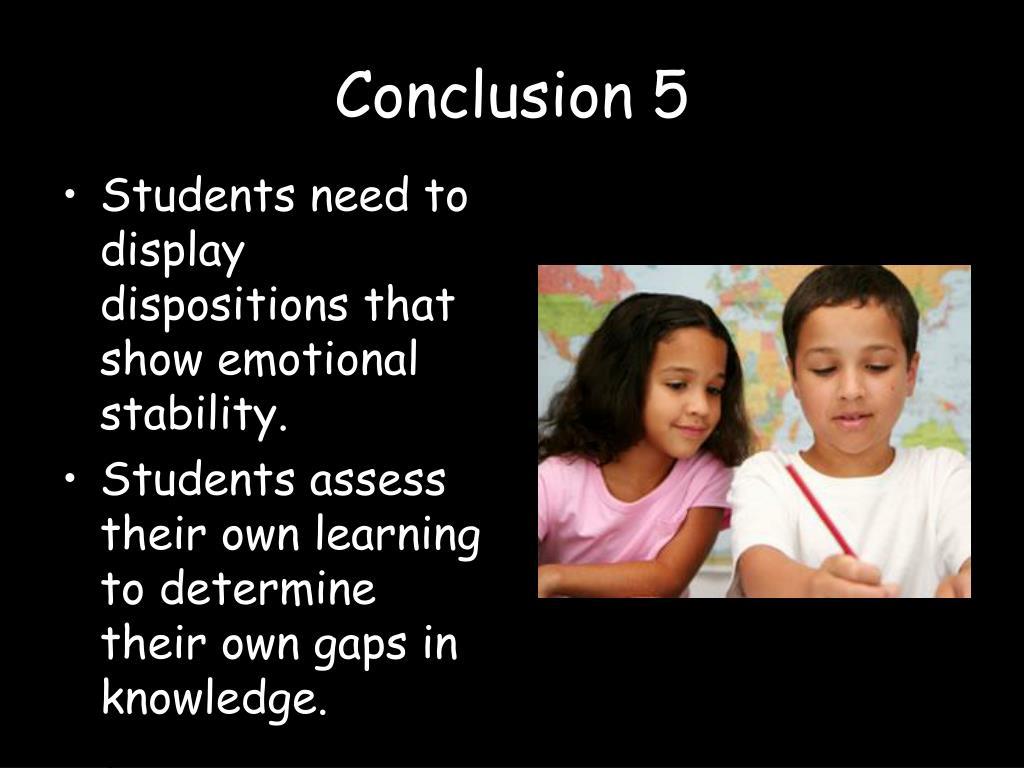 Conclusion 5