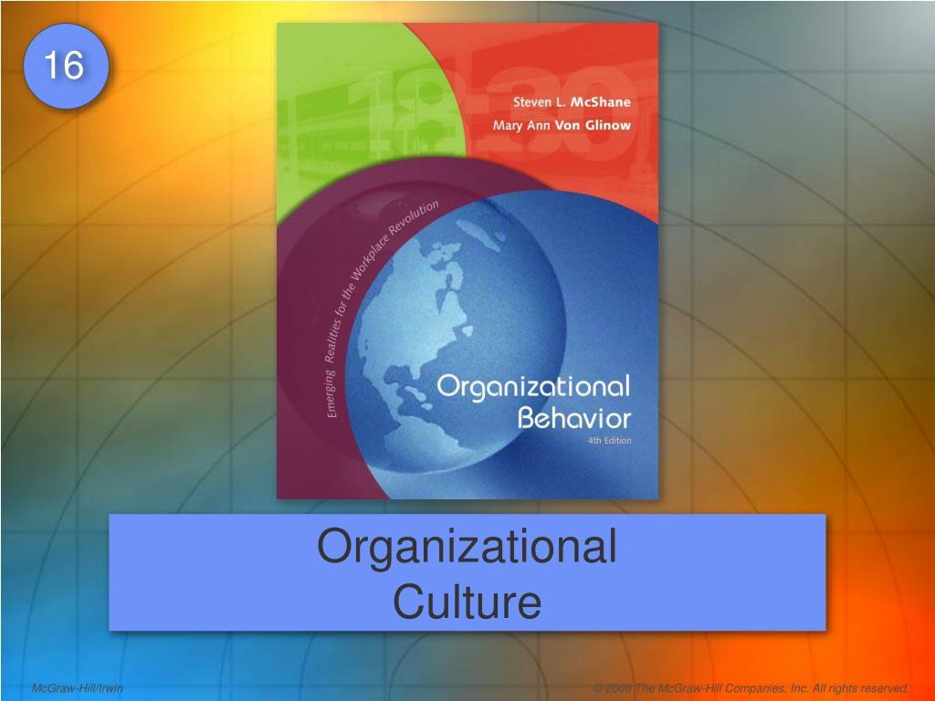 organizational behavior week 1