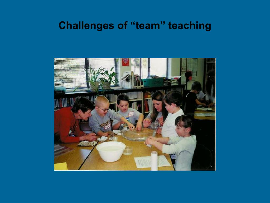"""Challenges of """"team"""" teaching"""