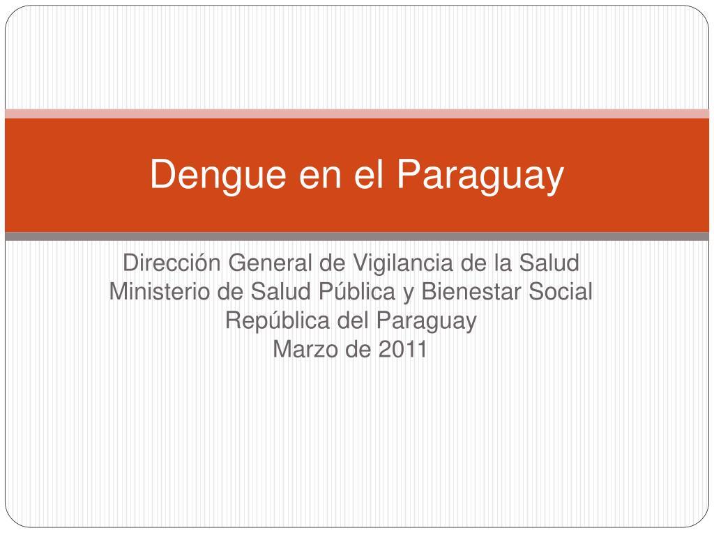 dengue en el paraguay l.