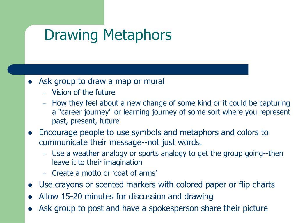 Drawing Metaphors