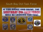south bay dui task force