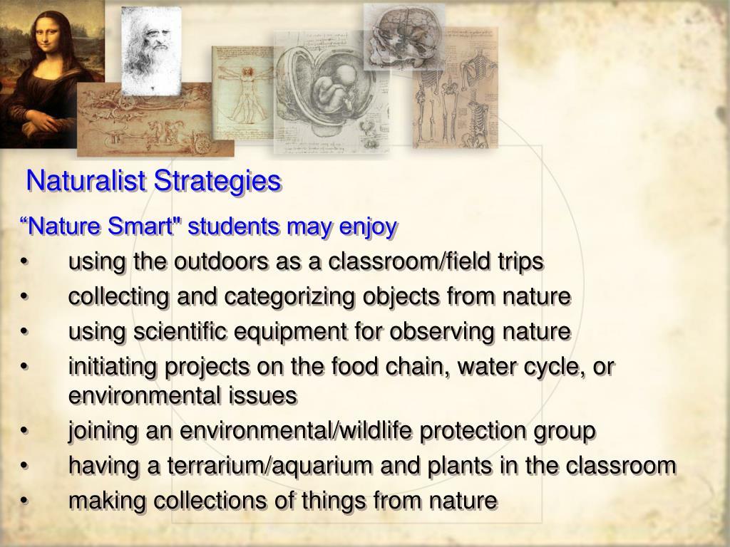 Naturalist Strategies
