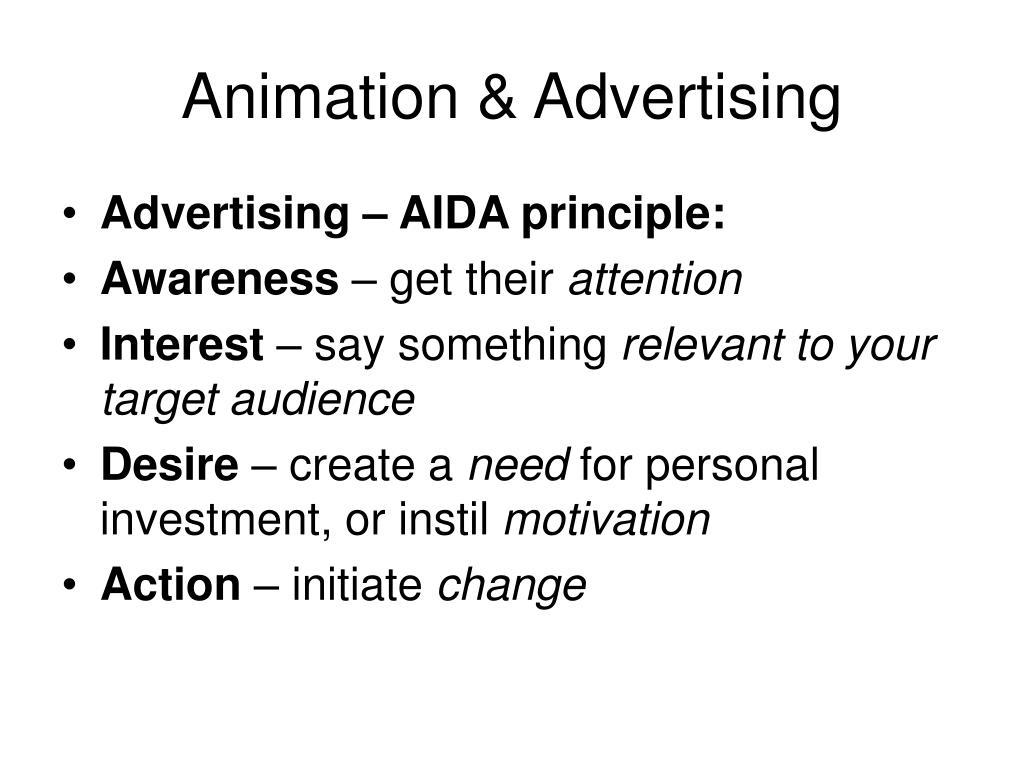 Animation & Advertising