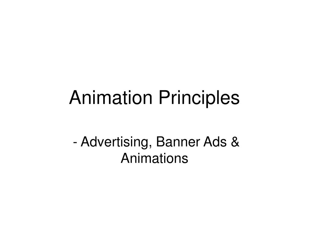 animation principles l.