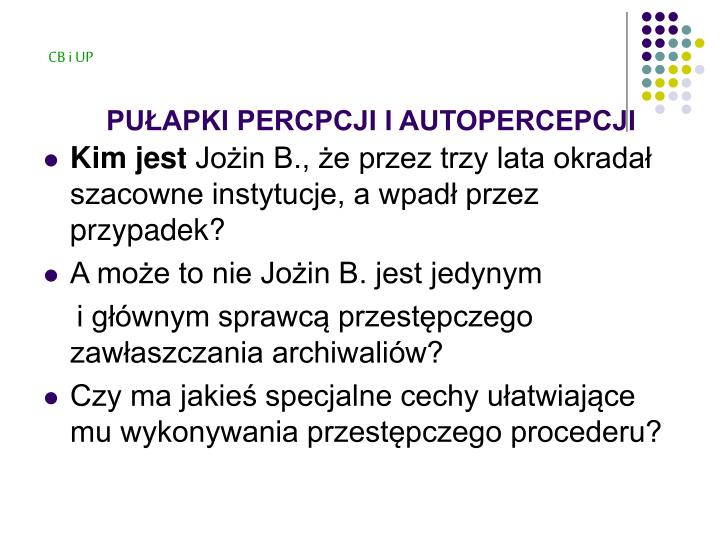Pu apki percpcji i autopercepcji3