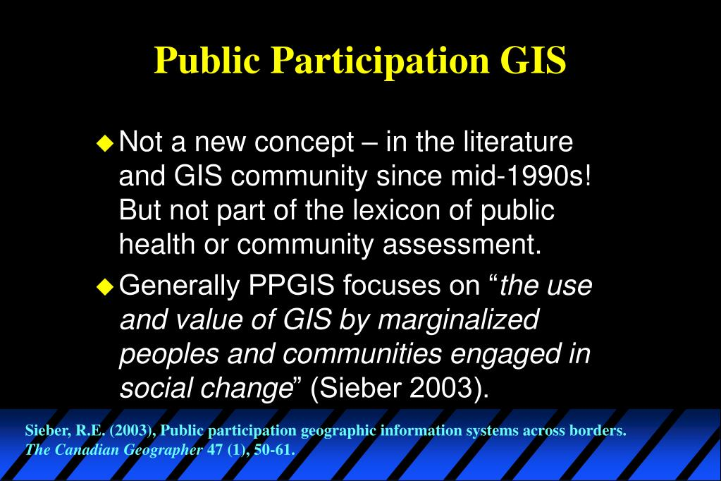 Public Participation GIS