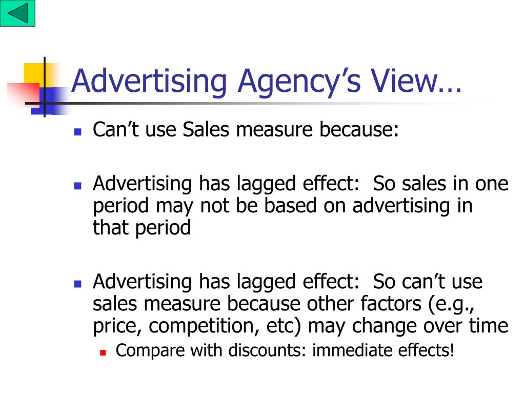 Advertising Agency's View…