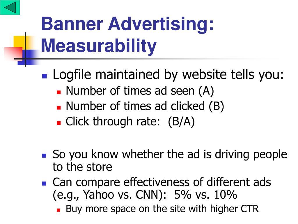 Banner Advertising: