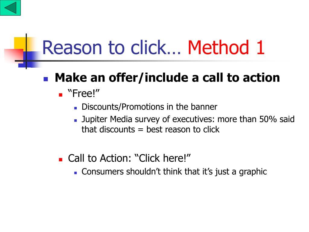 Reason to click…