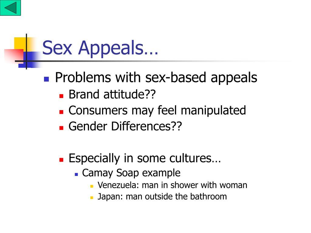 Sex Appeals…
