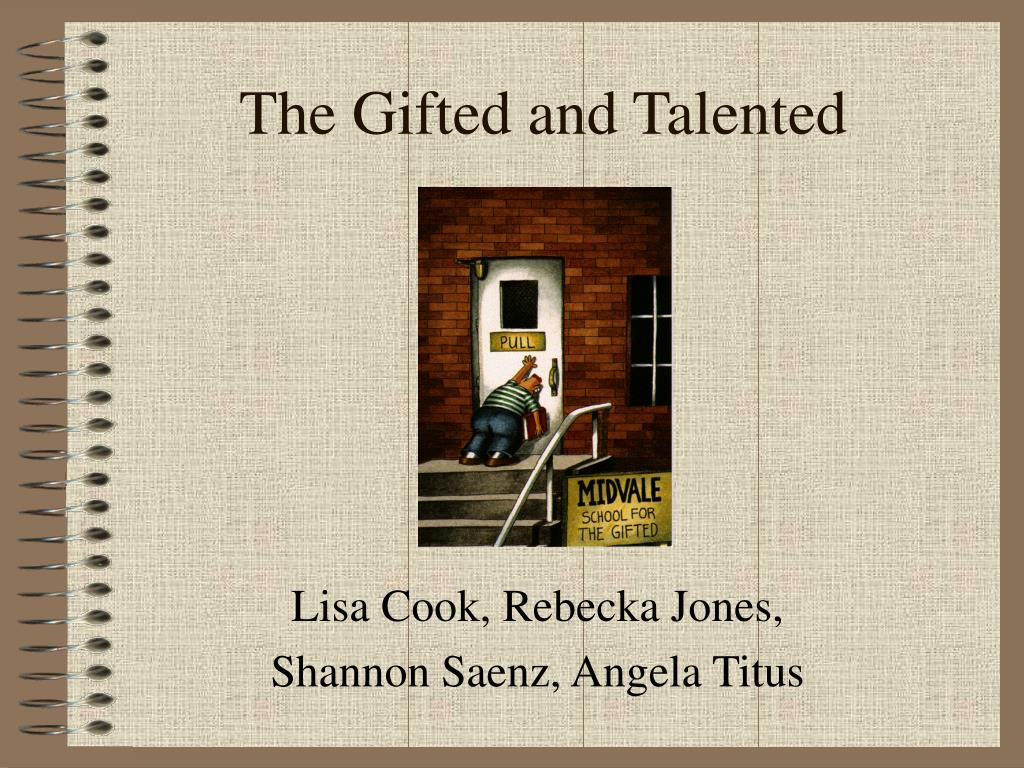 the gifted and talented l.