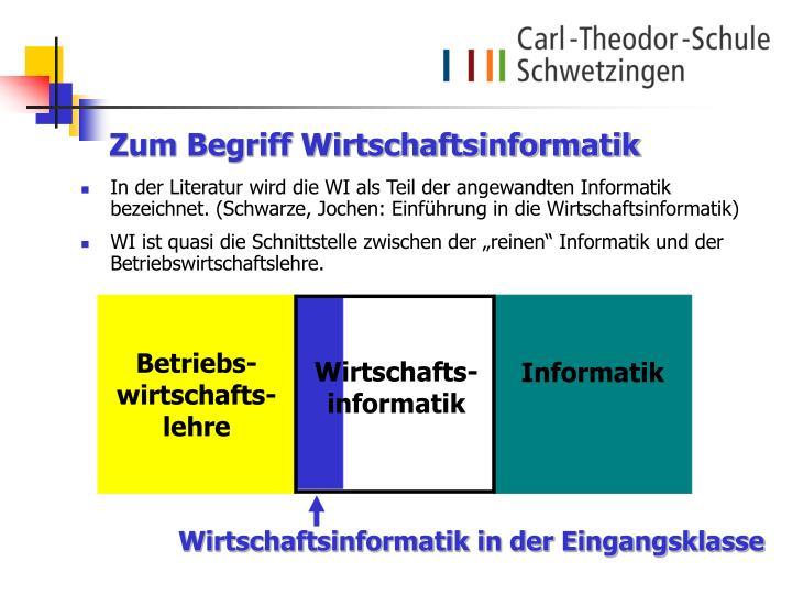 Wirtschafts-informatik