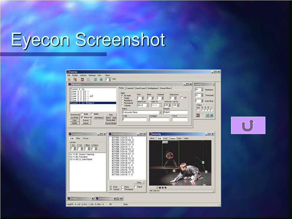 Eyecon Screenshot