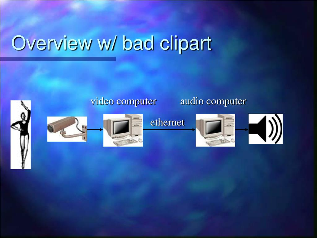 Overview w/ bad clipart
