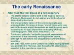 the early renaissance11