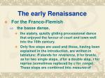 the early renaissance7