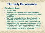 the early renaissance8