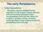 the early renaissance9