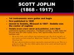 scott joplin 1868 191711