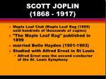 scott joplin 1868 191712
