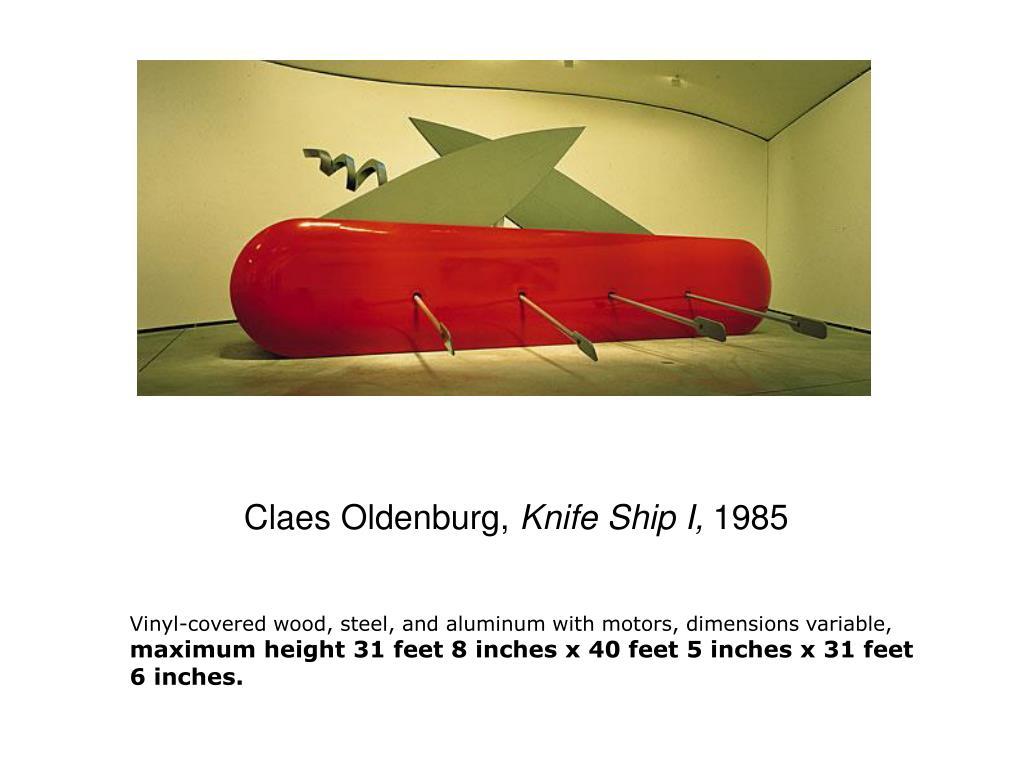 Claes Oldenburg,