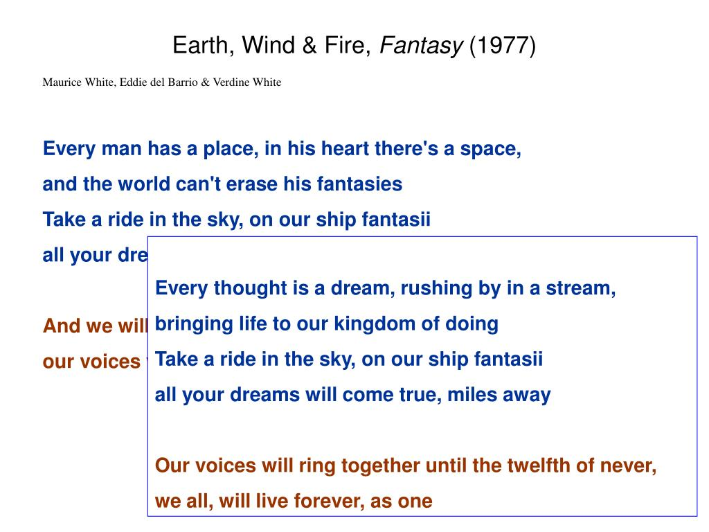 Earth, Wind & Fire,