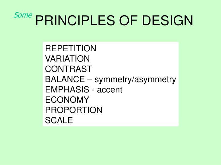Principles of design2
