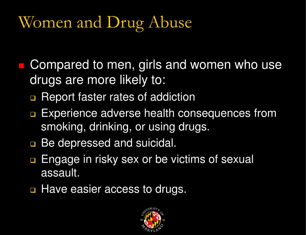 Women and Drug Abuse